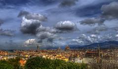Firenze - Panorama al tramonto