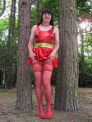 Red stocking show