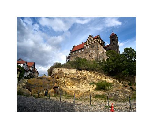 Schlossberg in Quedlinburg