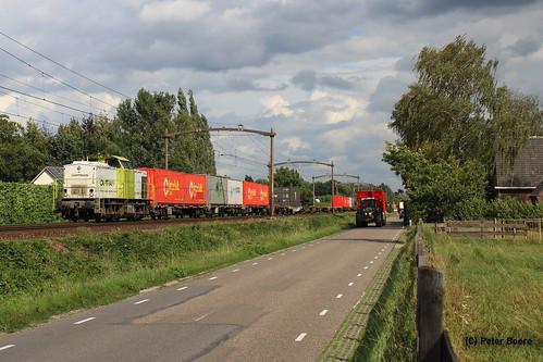 Captrain in Boxtel, 28-08-2020