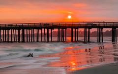 AK0I8420: Sunset at Sea Cliff