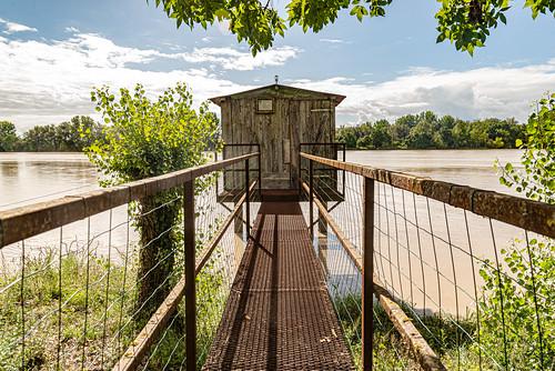 20-Le pont d'accès au carrelet