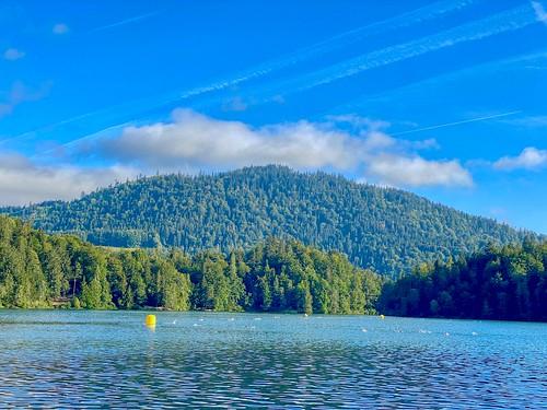 Lake Hechtsee in Tyrol, Austria