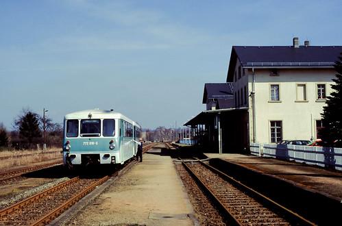 DB 772 010/ 972 610 Bf Dürrröhrsdorf 29.03.1998