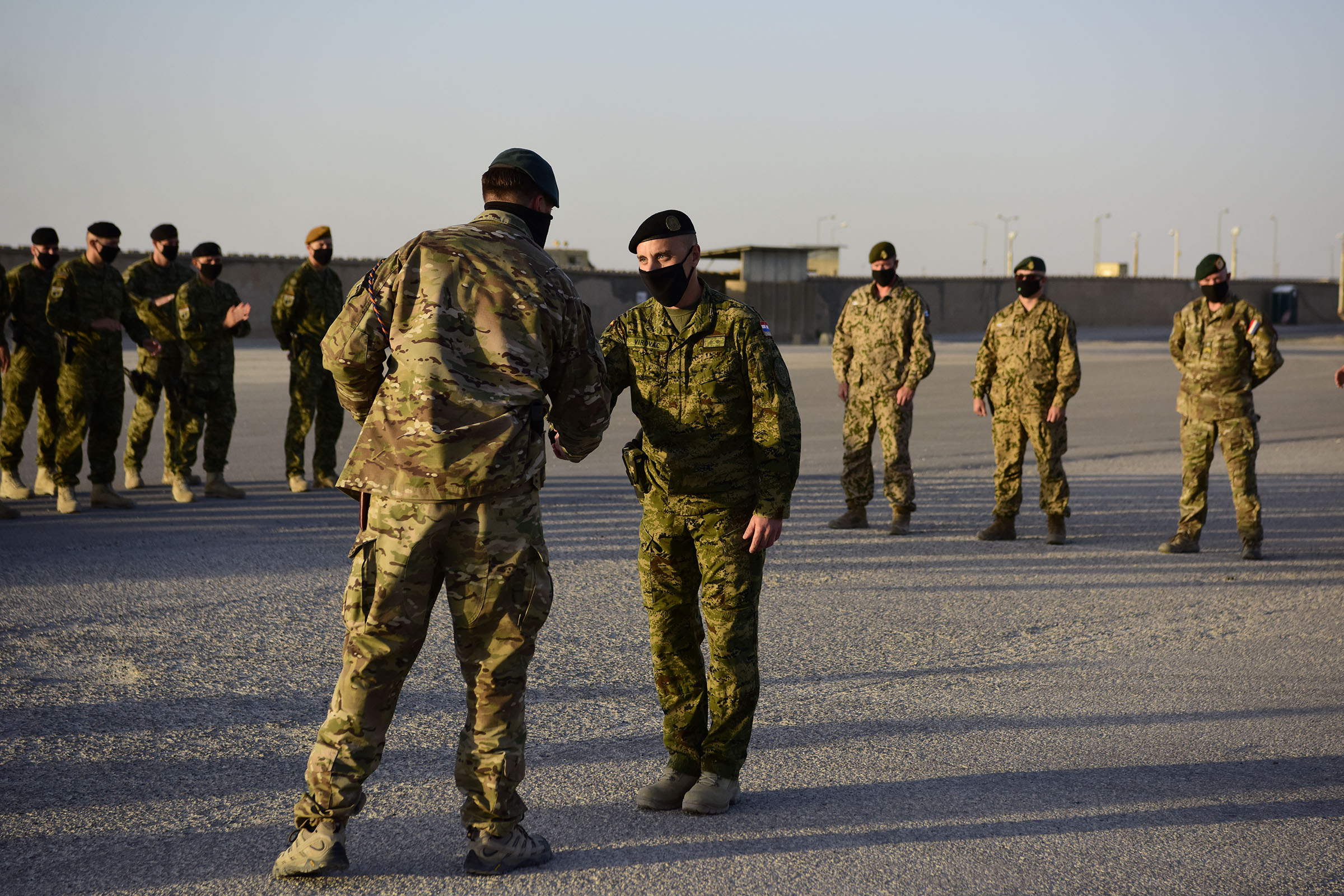 Završetak sudjelovanja 2. voda zaštite snaga u kampu Marmal u Afganistanu