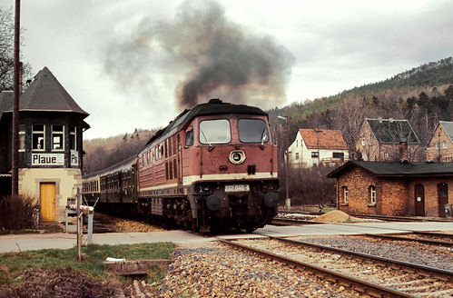 DR 232 040 Bf Plaue (Thür) 14.04.1993
