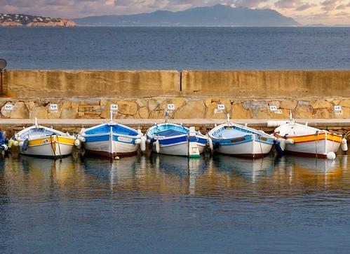 La Ciotat / Five boats