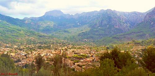 View of Soller city