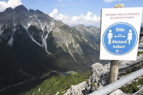 Panorama Klettersteig an der Kreuzjochbahn, 10.08.2020