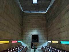 La chapelle et ses puits de lumière - Photo of Sourcieux-les-Mines