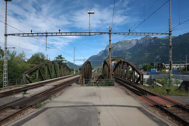 Photo:Landquart - SBB Rail Bridges By Kecko