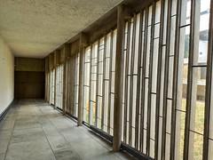 Les fenêtres dessinées par l'architecte-musicien Iannis Xenakis - Photo of Sourcieux-les-Mines