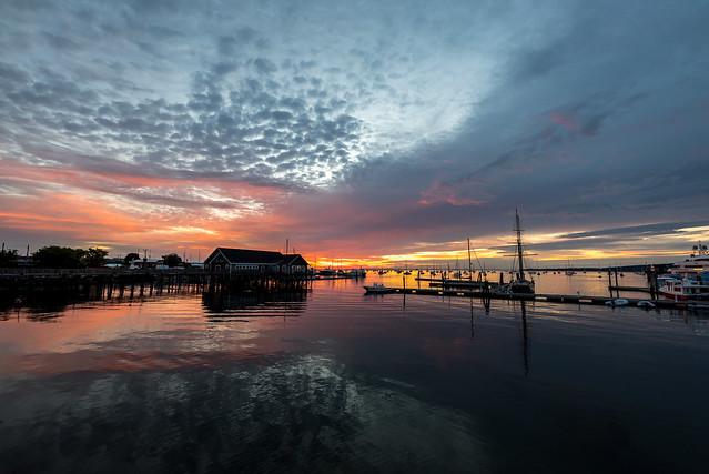 Rockland Harbor Park - Sunrise