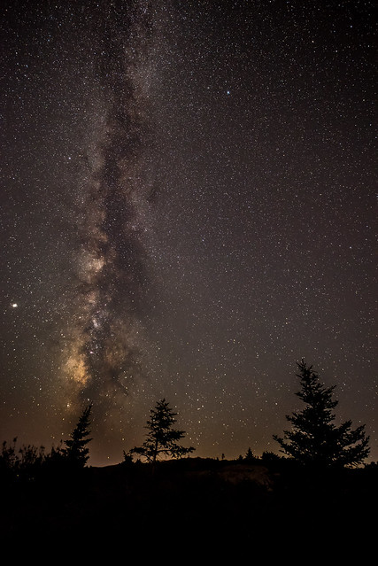 Acadia - Cadillac Mountain - Milkyway