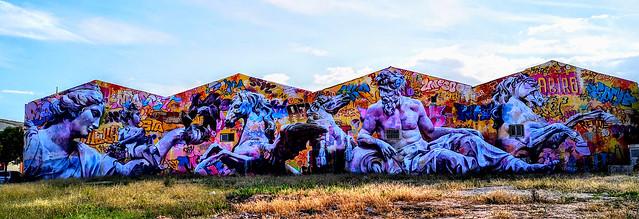 Photo:Arte Urbano en Ciudad Fallera - Museo Abierto 24 horas y 365 días al año By Antonio Marín Segovia