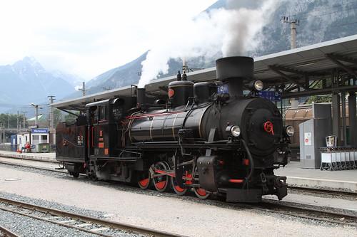 Zillertalbahn 83-076 Bahnhof Jenbach 2010-06-22