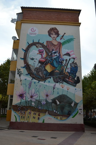 Aranda de Duero Street Art (Santa Catalina neighborhood).3
