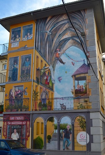 Aranda de Duero Street Art (Santa Catalina neighborhood)