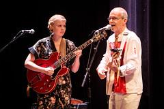 Claudio Latini and Oddrun Lilja Jonsdottir at Cosmopolite 2018 (210924)