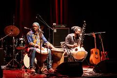 Sidiki Camara og Ibou Cissokho. at Cosmopolite 2018 (220934)