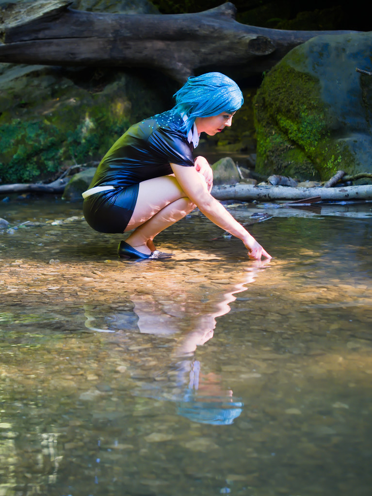 related image - Shooting Phosphophyllite - Houseki no Kuni - Xeluria - Cascade Schiessentümpel - Luxembourg -2020-07-30- P2200721