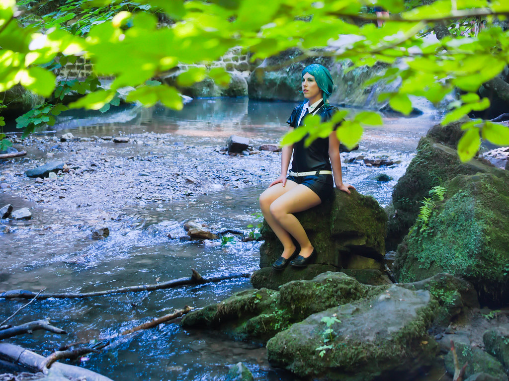 related image - Shooting Phosphophyllite - Houseki no Kuni - Xeluria - Cascade Schiessentümpel - Luxembourg -2020-07-30- P2200700