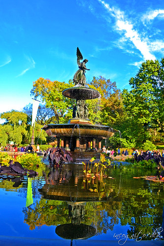Gorgeous Bethesda Fountain Central Park Manhattan New York City NY P00637 DSC_1408