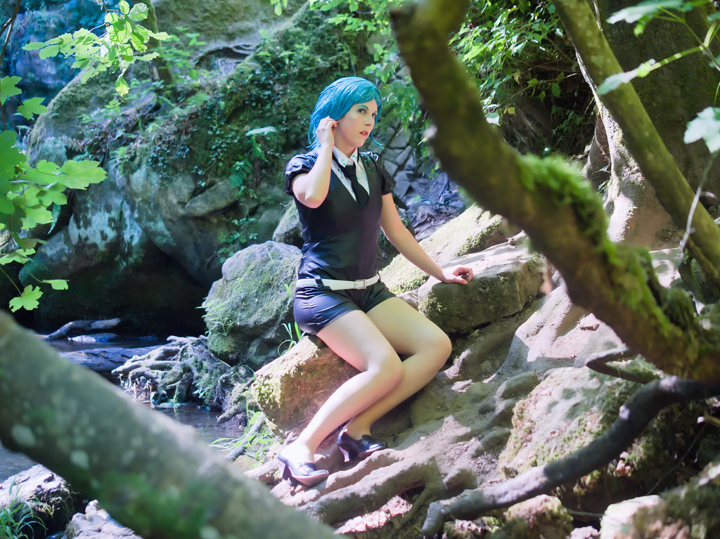 related image - Shooting Phosphophyllite - Houseki no Kuni - Xeluria - Cascade Schiessentümpel - Luxembourg -2020-07-30- P2200708