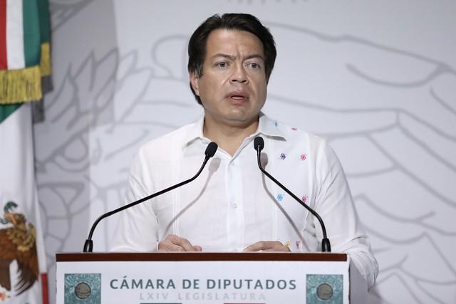 31/08/2020 Conferencia De Prensa Dip. Mario Delgado