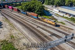 UP 5454 | GE AC45CCTE | NS Memphis District West End