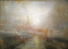 """""""Yacht approchant de la côte"""" de W. Turner (Musée Jacquemart-André, Paris)"""