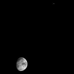 Luna and Jupiter