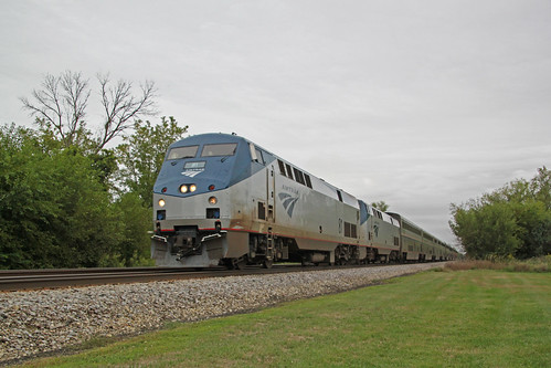 Amtrak 81 West Richwood No. 7 9/1/2020
