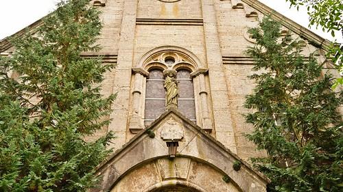 Portalfigur Griechisch orthodoxe Kirche Künzelsau
