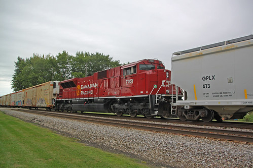CP 7051 mid-train on 288
