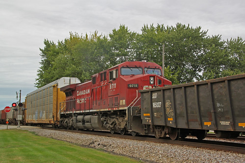 CP 9711 mid-train on 281