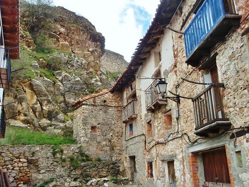 Linares de Mora - Subida al castillo - Teruel