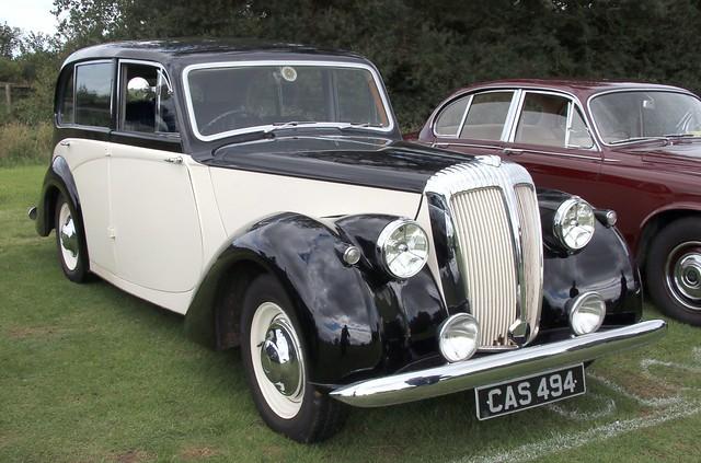 Photo:CAS494 Daimler Consort 1952 By kitmasterbloke