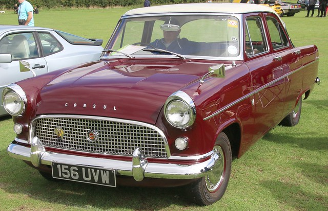 Photo:156UVW Ford Consul By kitmasterbloke