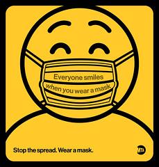 """MTA """"Wear a Mask"""" Campaign"""