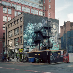 [Film] Subism Collective Mural, Manchester