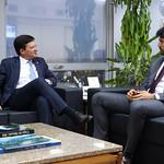 Reunião no Ministério das Comunicações - Setembro/2020