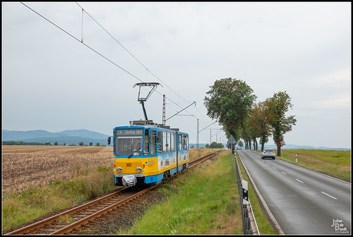 13-08-20 TWSB Tatra KT4DC 303, Leina - Friedrichrodaerstrasse