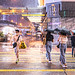 Mong Kok under the Typhoon