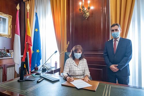 Toma de posesión de la subdelegada del Gobierno de España en Guadalajara, Mercedes Gómez
