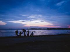 Bagan Lalang Beach.Blue Hour2
