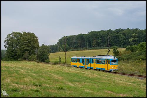 13-08-20 TWSB Düwag GT8NF 505, Leina