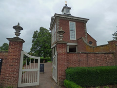 Buildings at Westbury Court Garden
