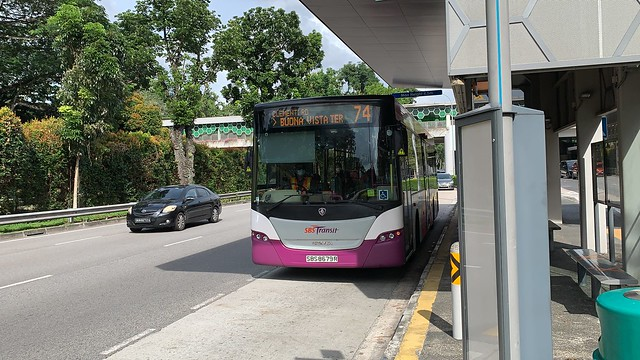 SBS Transit - Scania K230UB (Euro 5 Batch 1) SBS8679R on 74