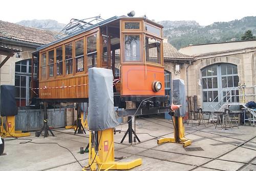 Trams Porto-Soller (Espagne)
